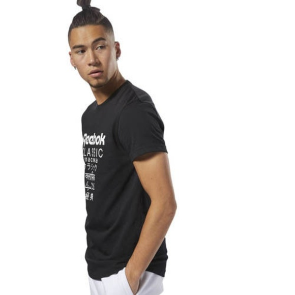 6ed72671 Reebok DJ1890 Men Classic GP longer tee SS shirts NWT